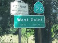 Image for West Point, CA - pop 746