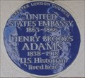 Image for Henry Brooks Adams - Portland Place, London, UK