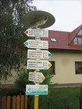 Image for Direction and Distance Arrow - Babice nad Svitavou, Czech Republic