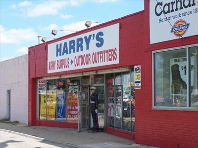 harrys army surplus
