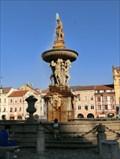 Image for Samson's Fountain - Ceske Budejovice, Czech Republic