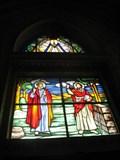 Image for Jesus stained glass - Paróquia Nossa Senhora da Lapa - Sao Paulo, Brazil