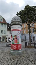 Image for Litfaßsäule am Marktplatz - Rudolstadt/ Thüringen/ Deutschland