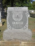 Image for R.E. Carr - City Greenwood Cemetery - Weatherford, TX