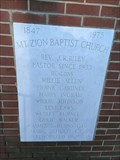 Image for 1847, 1975 Mt. Zion Baptist Church - Beech Island, SC