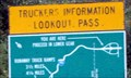 Image for Lookout Pass ID/Mt border