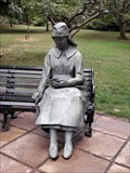 Image for Lady in the Park - Brampton Park, Newcastle-under-Lyme, Staffordshire, UK.