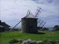 Image for Last -  Working windmill of trapezoid-shaped sails or blades made of wooden slats - Montedor, Portugal