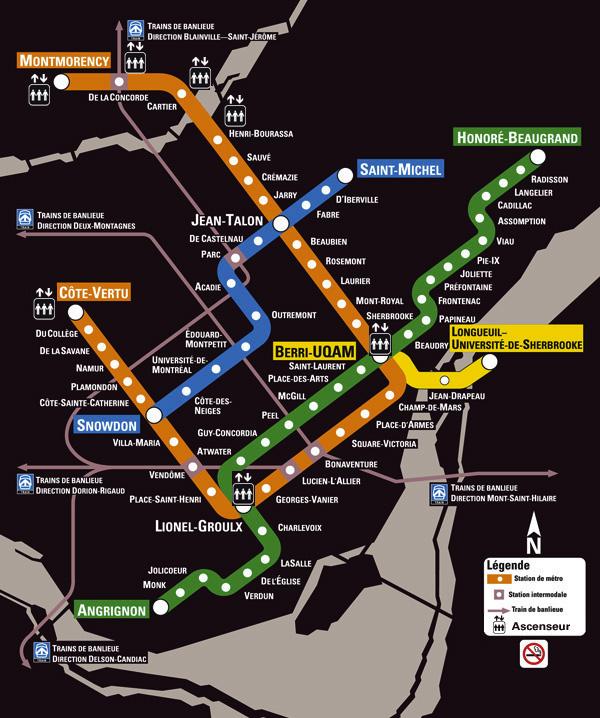 Montreal Subway Map Pdf.Top 10 Punto Medio Noticias Stm Montreal Map