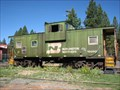 Image for Burlington Northern caboose # 12282 - Train Mountain, Chiloquin, OR