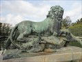 Image for Lion Killing a Wild Boar - Versailles, France