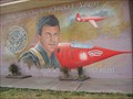 Image for Test Pilot Chuck Yeager and his X-1- Lancaster, California
