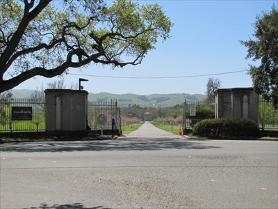 Entrance to Sunol Water at Paloma Way, Sunol, CA