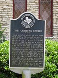 Image for First Christian Church of Luling