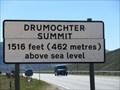Image for Drumochter Summit - Perth & Kinross, Scotland. 1516 feet