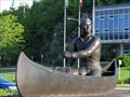 Image for Canoe Paddler - avenue Marquette, Baie-Comeau, Québec