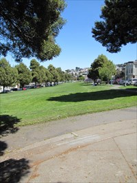 Looking East through the Park, San Francisco, CA