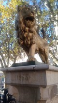 Image for Lion debout sur la fontaine - Vidauban, Var, France