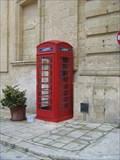 Image for M'dina Red Telephone Box - Malta