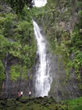 Image for La cascade de Vaimahuta- Faarumai-Tahiti-Polynésie