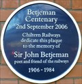 Image for Sir John Betjeman - Marylebone Station, London, UK