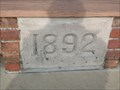 Image for 1892 Orphan Cornerstone - Rensselaer, IN