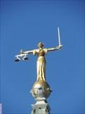 Image for Allegorical Figure of Justice - Central Criminal Court, Old Bailey, London, UK