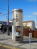 Image for Moderní reklamní sloup - Pohorelec - Praha, CZ