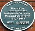 Image for Bexleyheath Coronation Memorial Clock Tower - Broadway, Bexleyheath, London, UK
