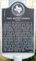 Image for First Baptist Church of Buda