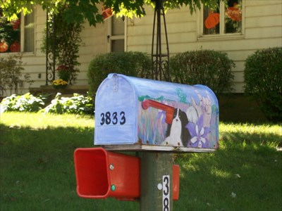 Painted Mailbox