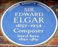 Image for Edward Elgar - Avonmore Road, London, UK