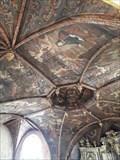 Image for Plafond peint de la Chapelle des Pénitents Noirs - Villefranche-de-Rouergue (Aveyron), France