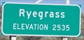 Image for Ryegrass Summit ~ Elevation 2535 Feet