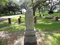 Image for A.E.  Cox - Oak Park Cemetery, Alvin, TX