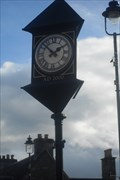 Image for Town Clock, Atholl Road, Pitlochry, Perth & Kinross, Scotland.