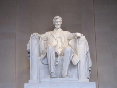 Lincoln In Chair, Washington, DC
