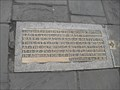 Image for Mary Bignal Rand's World Record Long Jump, Market Place, Wells, Somerset. BA5 2RF.