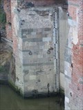 Image for Arno river gauge, Pisa, Italy