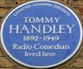 Image for Tommy Handley - Craven Road, London, UK