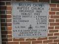 Image for 1983 - Billups Grove Baptist Church - Winterville, GA