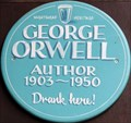 Image for George Orwell - Rathbone Place, London, UK