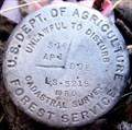 Image for USDA Forest Service Marker S.18 AP.1 DOE LS.5215 1980