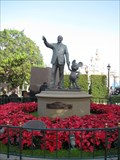Image for 4017 Disneya -Walt Disney statue @ Disneyland - Anaheim, CA