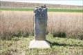 Image for BOD Marker on highway 147 east of Cedar Bluff Dam