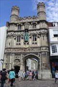 Image for Christ Church Gate -- Canterbury, Kent, UK