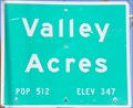 Image for Valley Acres ~ Population 512
