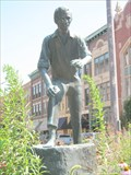 Image for Lincoln's First Political Speech statue - Decatur, IL