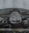 Image for CoA of King Charles II -- Great Fire Memorial, City of London, UK