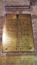 Image for Memorial Plaque - St Eata - Atcham, Shropshire